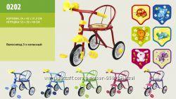 Велосипед детский 3-х колесный Малятко новый.