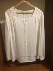 Блуза молочного цвета FWM британский бренд