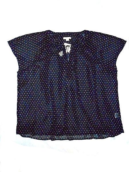 Блузка блузон шифоновая футболка большой размер