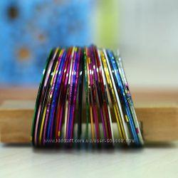 Скотч-лента для маникюра, декоратина стрічки для манікюру