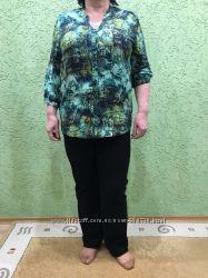 Блуза цветная фирмы kjbrand германия. 54-58