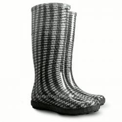 Резиновые сапоги Demar - шанель черная.