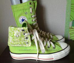 Кеды Converse All Star,  оригинал,  2 варианта носки