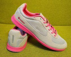 Красивенные кроссовки от Restime Р. 36-40 серые и коралл