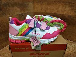 Красивенные яркие детские кроссовки BONA р. 31-36