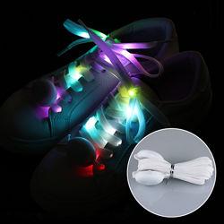 шнурочки светящиеся с LED-подсветкой USB зарядкой