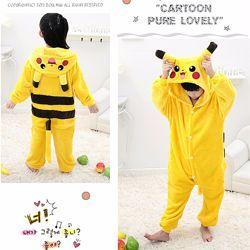 Пижама кигуруми для мальчиков Спайдермен, Пикачу, Стич