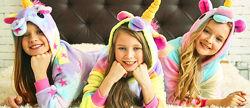 Кигуруми пижамка пижама кігурумі для девочек единорог
