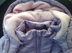 Зимняя куртка Глория Джинс на рост 122 см, удлиненная.