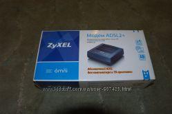 Двухдиапазонный ADSL2 модем ZyXEL