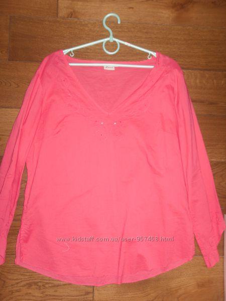 красивая легкая блузка рубашка XL
