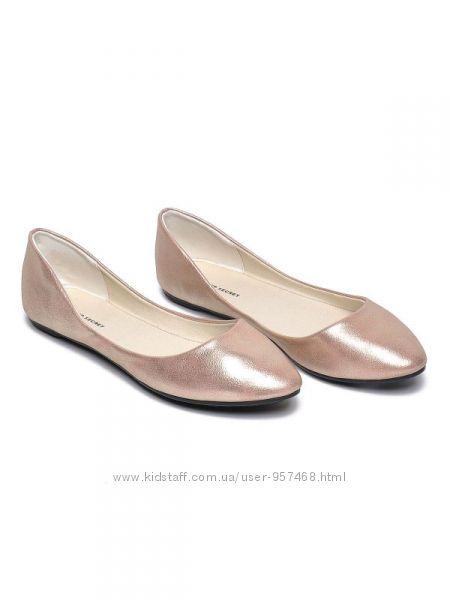 Очень красивые балетки пинетки Top Secret 25 см по стельке