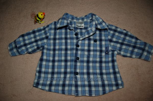 Стильная рубашечка малышу