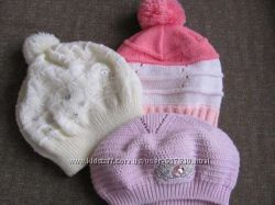 Симпатичные шапки на девочку