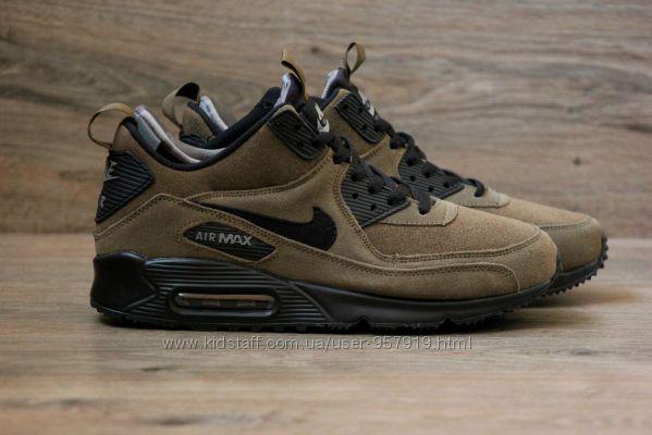 de76dc65 Кроссовки мужские зимние Nike Air Max 90 Winter SneakerBoot, 1175 грн. Мужские  кроссовки купить Киев - Kidstaff   №21162943