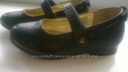 Черные нарядные туфельки 24 р7