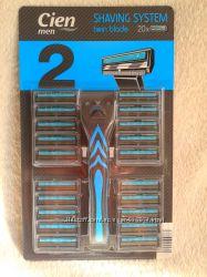 Сien набір станок для бриття і 20 змінних касет з Німеччини