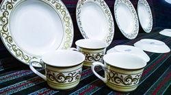 Набор посуды фарфор De Luxe