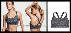 серые бюсты для занятий спортом Victorias Secret оригинал