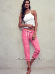 штаны для сна Victorias Secret оригинал размер S Mayfair Crop Pant