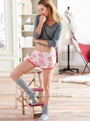 шорты для дома и сна Victorias Secret Виктория Сикрет оригинал