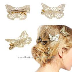 Бабочка-заколка для волос