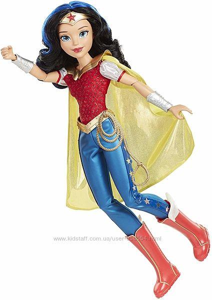 Высокая кукла чудо женщина dc super hero girls wonder woman