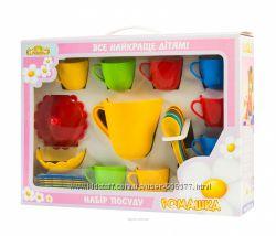 TIGRES. Игровые наборы посудки для маленьких хозяюшек.