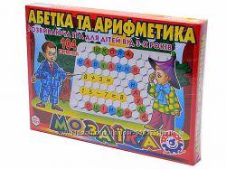мозаики развивающие азбука и арифметика, Технок