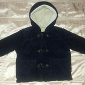 Куртка теплая стильная 9-12 мес 74- 80