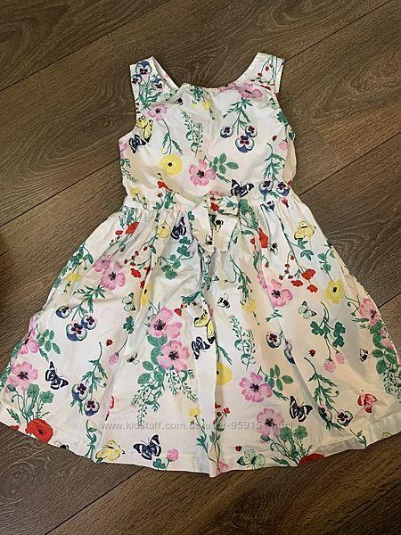 Платье H&M на 5-6 лет, рост 116 см