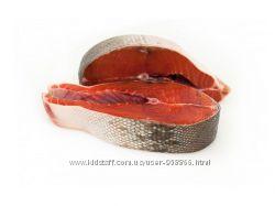 Рыба кижуч без головы потрошённая премиум 2, 4 кг