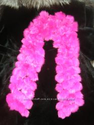 меховой палантин, шарф, мех натурал. кролик