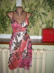 новый, фирма BAYкрасивый сарафан, летнее платье, с плотными чашечками