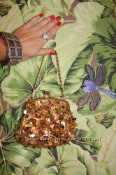 женская сумка, кошелёк, бисер, паетки, новая, вар-ты