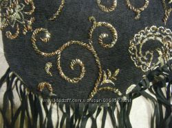 сумка, клатч, вышивка, бисер и второй вариант
