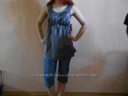 Туника, майка, блузка, для беременной, летняя, 42, 44 размер,