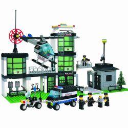 Конструктор Brick 110 Полицейский участок 430 деталей