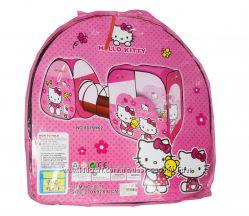 Палатка 8015 Китти Hello Kitty и 3в1 с тоннелем, для девочки, 2в1