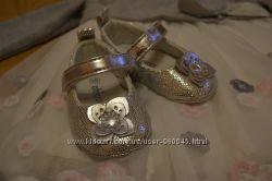 Балетки для маленькой принцессы Chicco пинетки, туфли