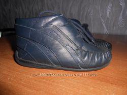 кожаные ботиночки 22 размер