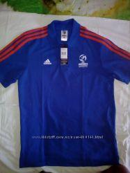 Polo Adidas Uefa Under21 LO AJ0204 cиний М оригинал