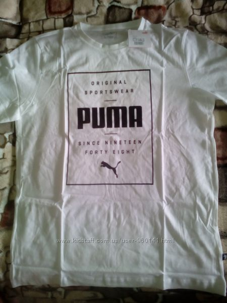 Оригильная футболка Puma Box Men&acutes Tee