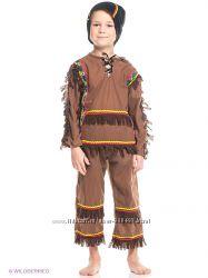 Карнавальный костюм индейца.