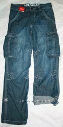 Новые фирменные джинсы р 134-140
