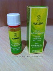Омолаживающее масло для лица увлажнят питает регенерирует   Weleda 10 мил