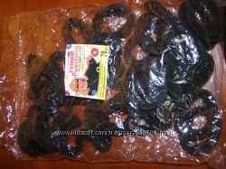 Резинки для волос 30 шт чёрные