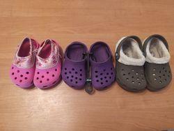 Crocs с4-5 утеплённые