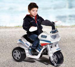 Продам электромотоцикл Peg-Perego Raider Police ED 0910