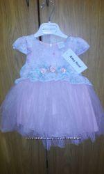 Платье Вeby rose размер 9 месяцев рост 74
